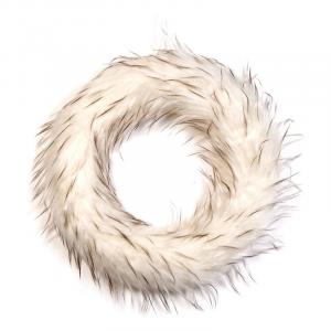 Věnec - bílá kožešina (1800 Kč) Le Patio