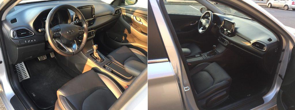 """Hyundai i30 kombi – interiéru dominuje multifunkční volant a velký 8"""" displej"""