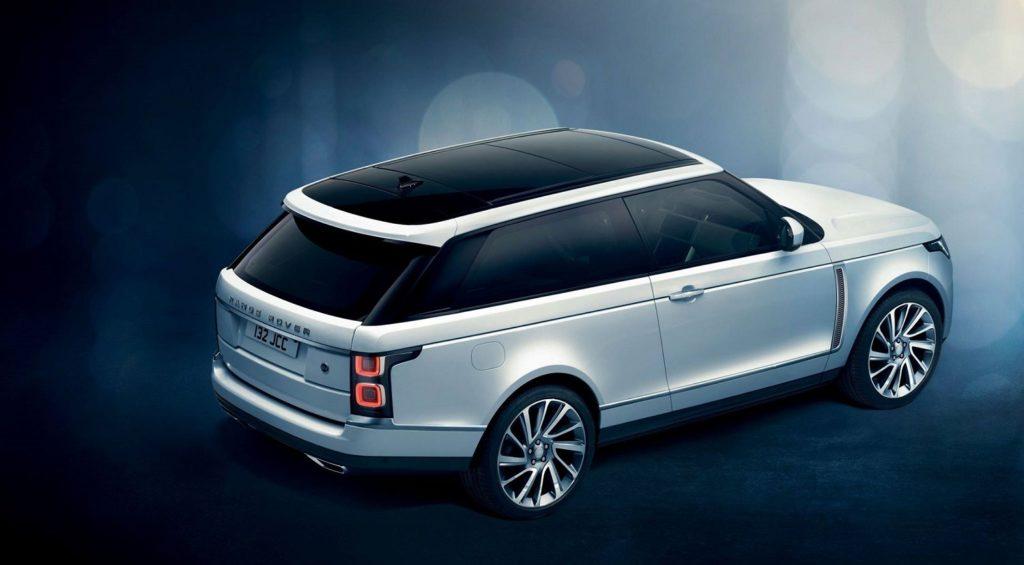 Range Rover SV Coupé – z nuly na 100 km/h za 5,3 sekundy