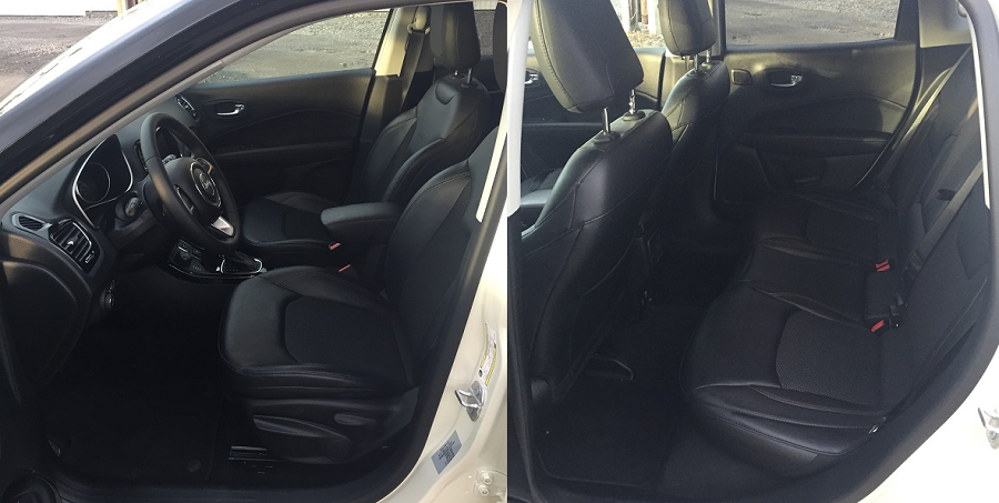 Jeep Compass – i zadní sedadla nabízí dostatek prostoru pro cestující