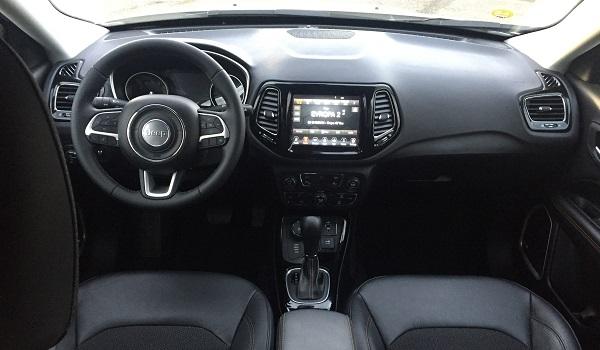 Jeep Compass – uvnitř je opravdu prostorný