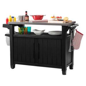 Odkládací stolek černý