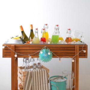 Chladící stolek s nápoji