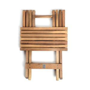 Skládací stolek rozložený