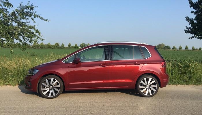 Volskwagen Golf Sportsvan – slovo van se používá pro dodávky, to Golf není