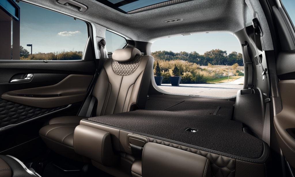 Hyundai Santa Fe: zavazadlový prostor nabídne 625 l