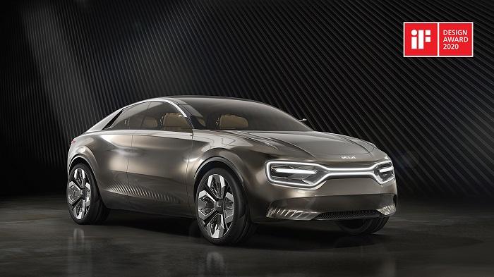 'Imagine by Kia' je čistě elektrický čtyřdveřový osobní vůz