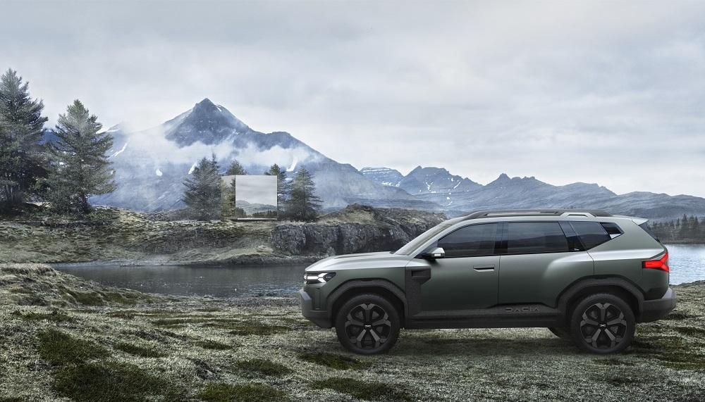 Dacia Bigster Concept přináší svěží vítr do segmentu C